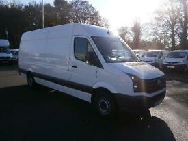 Volkswagen Crafter CR35 2.0 Tdi 109Ps High Roof Van DIESEL MANUAL WHITE (2014)