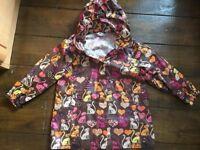 Girl's Waxed Coat. Age 3-4 years (H&M)