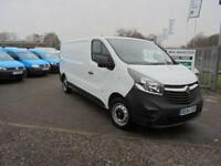 Vauxhall Vivaro 2900 1.6Cdti 115Ps H1 Van DIESEL MANUAL WHITE (2014)
