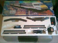 Hornby Intercity 225 model railway set + OO Gauge Collectors Loco R2877 / BR 0-4-OT + 2 PK of track