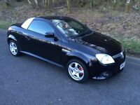 Vauxhall tigra 1.4 red leather interior exclusive model