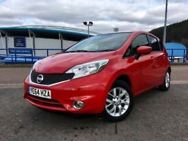 NISSAN NOTE ACENTA PREMIUM SafeT 5DR - SAFEY PACK - LOW MILEAGE - CHEAP ROAD TAX - LOADS OF SPEC