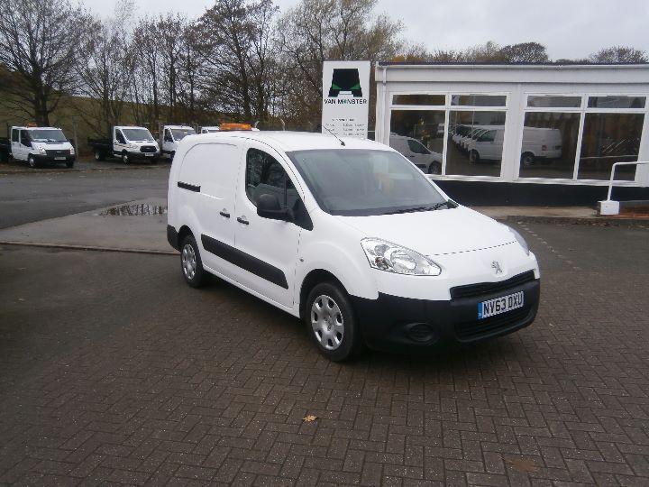 Peugeot Partner L2 750 S 1.6 HDI 92bhp Van DIESEL MANUAL WHITE (2013)
