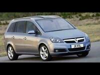 2010 Vauxhall Zafira 1.8I EXCLUSIV 5DR MPV PETROL Manual