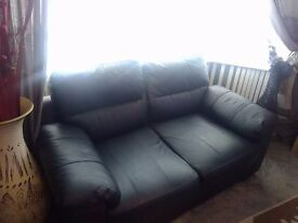 2x2 seater sofas excellent condition no rips eg 100 for both heavy