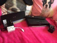 BT internet box and tv box