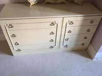 Lovely Shabby Chic Chest of Drawers