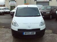 Peugeot Partner 850 SE 1.6HDI 92ps 3 seats DIESEL MANUAL WHITE (2015)