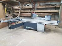Altendorf WA80 3 phase sliding table saw, hardly used, in great condition with lots of extras