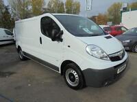 Vauxhall Vivaro 2.0Cdti [115Ps] Van 2.9T Euro 5 L/W/B DIESEL MANUAL WHITE (2014)