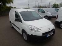 Peugeot Partner 850 Se 1.6 Hdi 92 Van DIESEL MANUAL WHITE (2015)