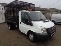 Ford Transit T350 MWB TIPPER TDCI 100PS DIESEL MANUAL WHITE (2013)