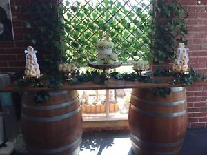 Wine Barrels & Bartop, Tables, Chairs & more.. Brunswick West Moreland Area Preview