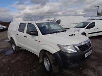 Toyota Hilux Active D/Cab Pick Up 2.5 D-4D 4Wd 144 DIESEL MANUAL WHITE (2015)