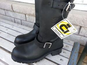ALTIMATE LEATHER MOTORCYCLE BOOTS