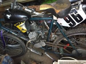 bike with engine on it need gone