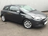 2017 17 reg Vauxhall Corsa 1.4 ecoflec - TOP SPEC HEATED SEATS - ONLY 4,000 MILES - CHEAP TO INSURE