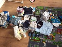 Baby boy clothes bundle 0-3 and 3-6 103 pcs! next,baby club,vertbaudet and more!