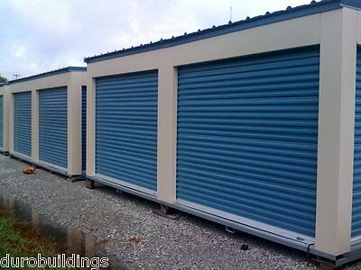 Duro STEEL JANUS 8'W x 10'T Econmical Commercial 1950 Series Even out-up Door Train