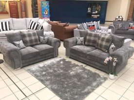 3+2 Seater Verona Sofa With Scatter Back Cushions