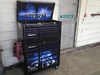 "Snap on ""storm"" tool box roll cab £1195 O.N.O like Mac beta etc"
