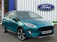 2018 Ford Fiesta 1.0t Ecoboost Active 1 Hatchback 5dr Petrol Manual s/s 100 Ps H