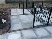 slabbing/fencing/groundwork/general maintenance