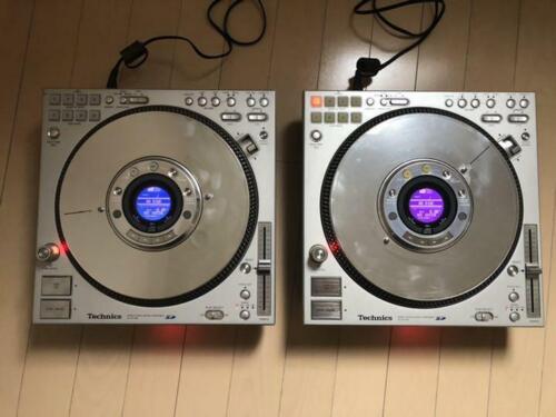 Technics CDJ SL-DZ1200 2006 Audio music equipment set of 2