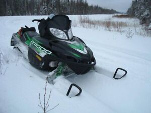 """M1000cc Mountain Sled with 162"""" PowerClaw track."""