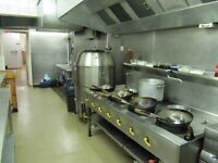 Restaurant kitchen Required