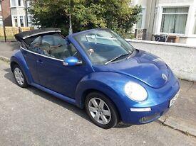 Mar 2006 Volkswagen Beetle LUNA 75PS Convertible Excellent Condition