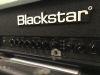 Guitar Amp (Blackstar) + Marshall Cab