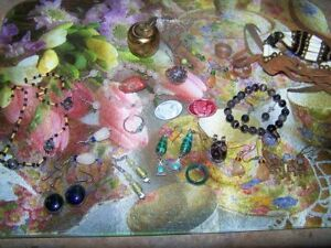 For Re-Sale or Dress-Up A Mixed Lot of Gently Used Jewellery