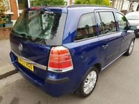 2007 Vauxhall Zafira 7 Seater Petrol Cheap Reliable Family Car, Economical 1 ...