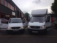 Friendly Low Cost MAN AND VAN (last minute every move accepted) from £20ph