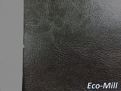 - Synthetic Leather Vinyl Upholstery Fabric Vancouver Black Soft Hand Feel 54