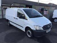 Mercedes-Benz Vito LWB 109 CDI VAN 95PS DIESEL MANUAL WHITE (2013)