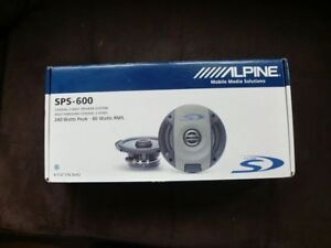 Alpine Car Speakers Type-S (2-pairs)