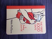 The first 1000 days baby journal new