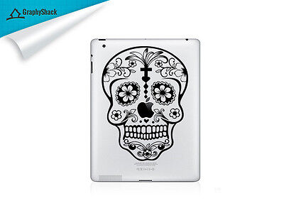 Sugar Skull iPad Decal Vinyl Tab Decals iPad Air Retina ask for iPad Mini