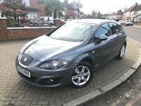 2012 (12) Seat Leon 1.6 TDI Ecomotive CR SE Copa 5dr £0 ROAD TAX a year 6 Months Warranty Included