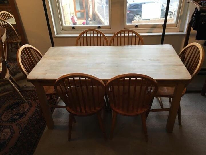 Maple Kitchen Table With 6 Chairs In Westbury On Trym Bristol Gumtree