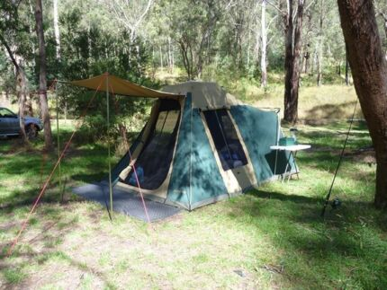 Hi-Country Wanderer Extended Canvas Tent Officer Cardinia Area Preview