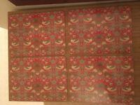Christmas Placemats - Liberty style print