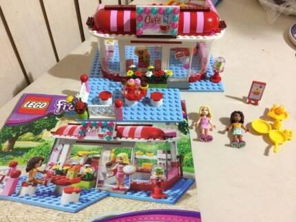 Lego Friends City Park Caf 3061 All Piecesinstructions Toys