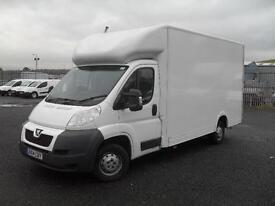 PEUGEOT BOXER 2.2HDI 130 psi 335 L3 F-C box van, White, Manual, Diesel, 2014