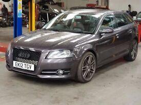 2012 Audi A3 1.6 TDI SE Sportback 5dr Start and Stop