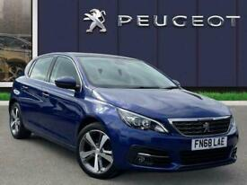 image for 2018 Peugeot 308 1.2 Puretech Gpf Allure Hatchback 5dr Petrol Manual s/s 130 Ps