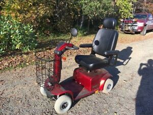 ALMOST BRAND NEW MOBILITY SCOOTER