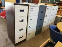Large selection of metal 4 drawer filing cabinets available from just £30 each